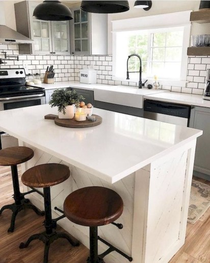 Awesome Kitchen Island Design Ideas with Modern Decor & Layout 52