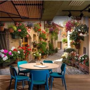 Basic Exterior Wall Into an Elegant Vertical Garden to Perfect Your Garden 12