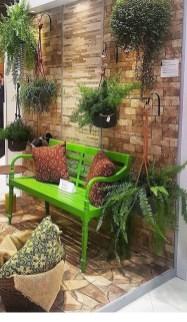 Basic Exterior Wall Into an Elegant Vertical Garden to Perfect Your Garden 28