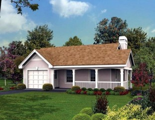 Comfortable Small Cottage House Plan Ideas 17