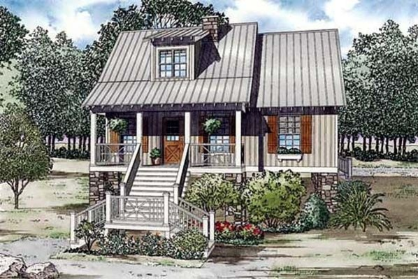 Comfortable Small Cottage House Plan Ideas 21