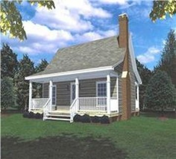 Comfortable Small Cottage House Plan Ideas 37