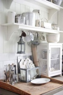 Cool Farmhouse Kitchen Decor Ideas On a Budget 32