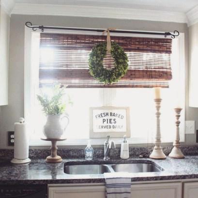 Cool Farmhouse Kitchen Decor Ideas On a Budget 44