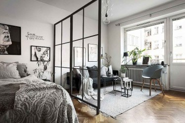 Cozy Room Divider for Small Apartments 16
