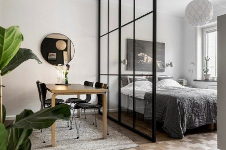 Cozy Room Divider for Small Apartments 26