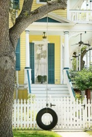 How to Coolest & Looks Bright, with Fences White-colored House 06