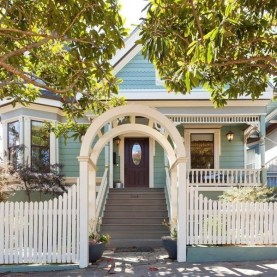 How to Coolest & Looks Bright, with Fences White-colored House 39