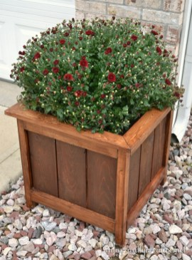 Inexpensive DIY Planter with Pallet 18