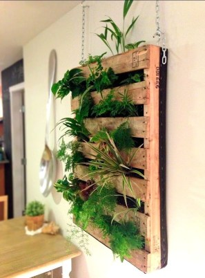Inexpensive DIY Planter with Pallet 35