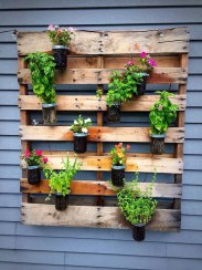 Inexpensive DIY Planter with Pallet 56