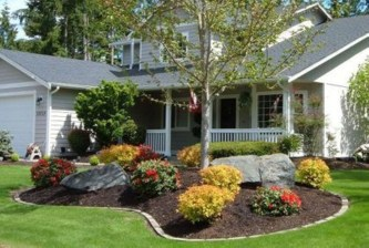 Most Amazing Front Yard and Backyard Landscaping Ideas 56