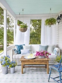 Outdoor Curtain Ideas to Spice Up Your Outdoor Space 03