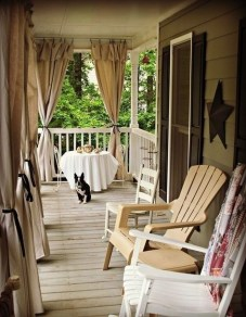Outdoor Curtain Ideas to Spice Up Your Outdoor Space 05