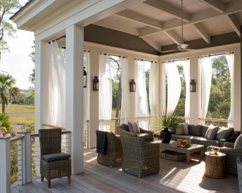 Outdoor Curtain Ideas to Spice Up Your Outdoor Space 09