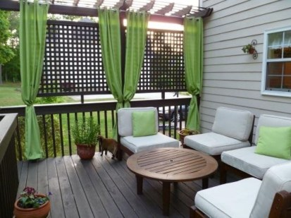 Outdoor Curtain Ideas to Spice Up Your Outdoor Space 25