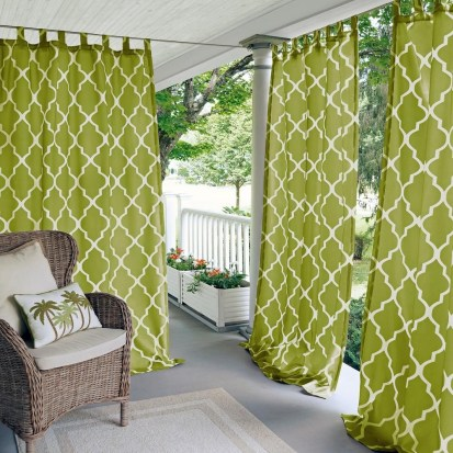Outdoor Curtain Ideas to Spice Up Your Outdoor Space 26