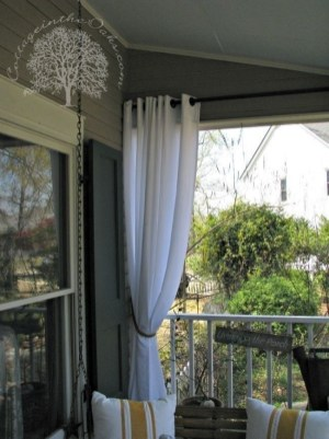 Outdoor Curtain Ideas to Spice Up Your Outdoor Space 32