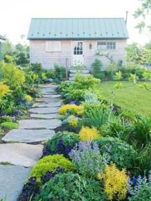 Stunning Garden Path and Walkways Design to Beautify Your Garden 16