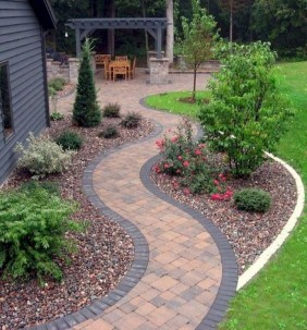 Stunning Garden Path and Walkways Design to Beautify Your Garden 29