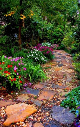 Stunning Garden Path and Walkways Design to Beautify Your Garden 42