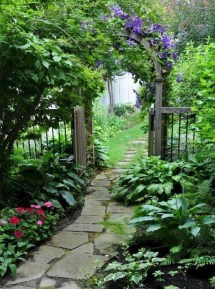 Stunning Garden Path and Walkways Design to Beautify Your Garden 43