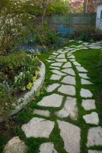 Stunning Garden Path and Walkways Design to Beautify Your Garden 45