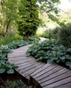 Stunning Garden Path and Walkways Design to Beautify Your Garden 46