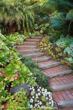 Stunning Garden Path and Walkways Design to Beautify Your Garden 50