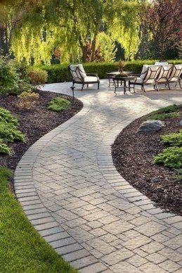 Stunning Garden Path and Walkways Design to Beautify Your Garden 75