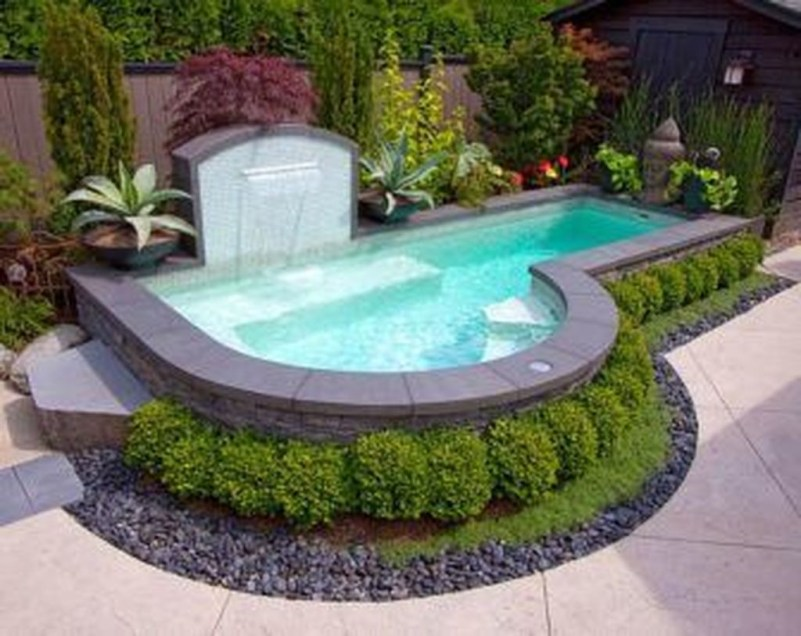 Top Trends Small Pools for Your Backyard 55