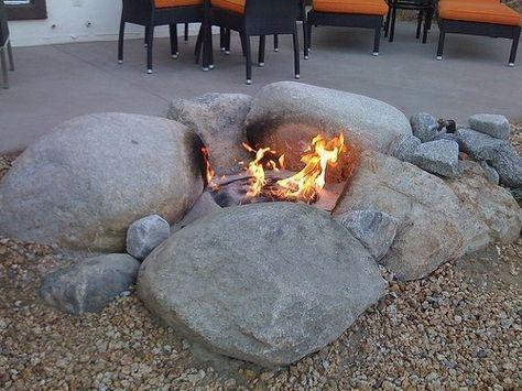 Wonderful Outdoor Firepit Ideas 14