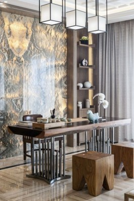 47 Interior Design 2019 for Decorating Your Comfortable Home Office 15