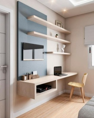 47 Interior Design 2019 for Decorating Your Comfortable Home Office 16