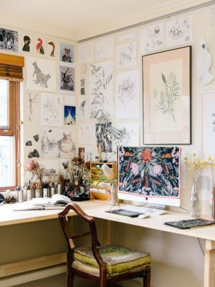 47 Interior Design 2019 for Decorating Your Comfortable Home Office 26