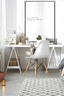 47 Interior Design 2019 for Decorating Your Comfortable Home Office 28