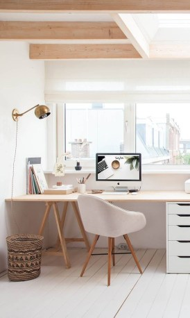 47 Interior Design 2019 for Decorating Your Comfortable Home Office 36