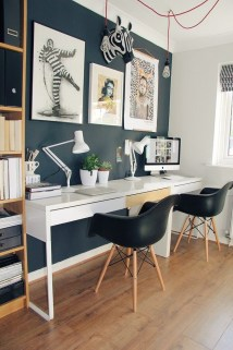 47 Interior Design 2019 for Decorating Your Comfortable Home Office 38