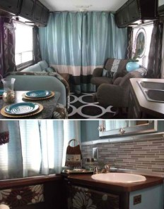 Amazing RV Decorating Designs and Project That You Have To Try 08
