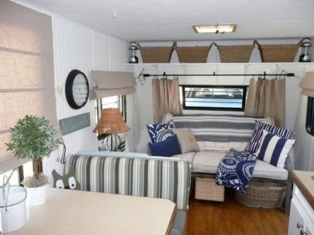Amazing RV Decorating Designs and Project That You Have To Try 18