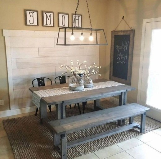 Amazing Rustic Farmhouse Decor Ideas on A Budget 15