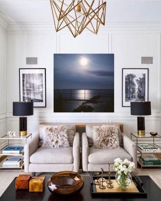 Amazing Small Living Room Design to Make Feel Bigger 06