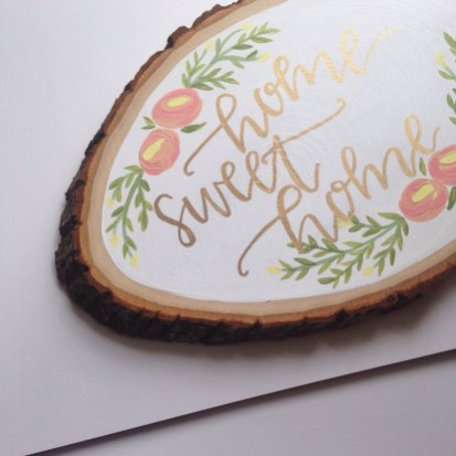 Beautiful Decorations for Your Wedding Decoration with Wooden Slices13