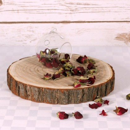 Beautiful Decorations for Your Wedding Decoration with Wooden Slices34