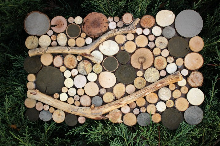 Beautiful Decorations for Your Wedding Decoration with Wooden Slices56