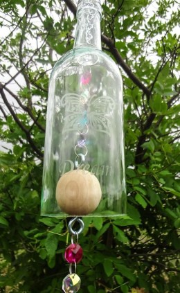 Charming Backyard Ideas Using an Empty Glass Bottle33