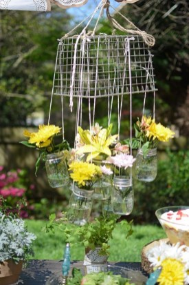 Charming Backyard Ideas Using an Empty Glass Bottle34