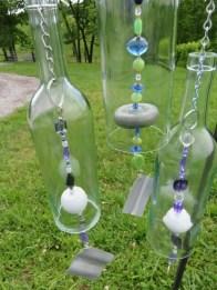 Charming Backyard Ideas Using an Empty Glass Bottle37