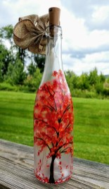 Charming Backyard Ideas Using an Empty Glass Bottle40