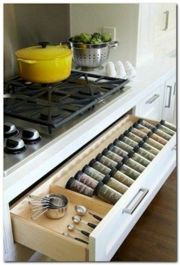 Cheap DIY Organization For Kitchen That You Must Try 26
